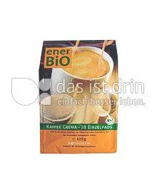 Produktabbildung: enerBiO Kaffeepads ''Kaffee Crema''