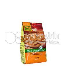 Produktabbildung: enerBiO Mini-Butterkeks 125 g
