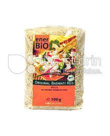 Produktabbildung: enerBiO Original Basmati Reis 500 g