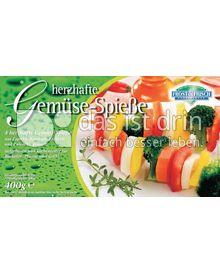Produktabbildung: Frost & Frisch Gemüsespieße 400 g