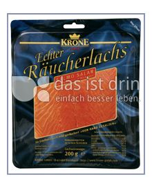 Produktabbildung: Krone Echter Räucherlachs 200 g