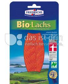 Produktabbildung: Friedrichs Bio Lachs 100 g
