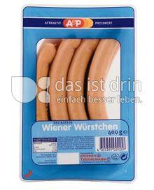 Produktabbildung: A&P Wiener Würstchen 400 g