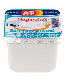 Produktabbildung: A&P Speisequark Magerstufe 500 g