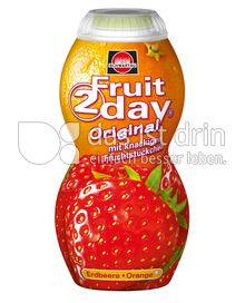 Produktabbildung: Schwartau Fruit2day Original Erdbeere - Orange 200 ml