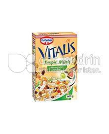 Produktabbildung: Dr. Oetker Vitalis Tropic Müsli 375 g