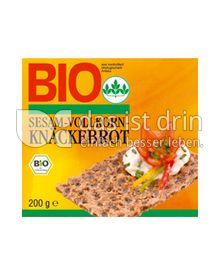 Produktabbildung: Bio Sesam-Vollkorn-Knäckebrot 200 g