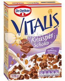 Produktabbildung: Dr. Oetker Vitalis Knusper Schoko 375 g