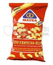 Produktabbildung: Mayka Bio Erdnuss Flips 75 g