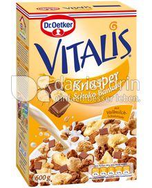 Produktabbildung: Dr. Oetker Vitalis Knusper Schoko Banane 600 g