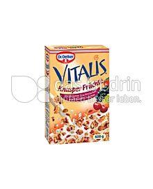 Produktabbildung: Dr. Oetker Vitalis Knusper Früchte 375 g