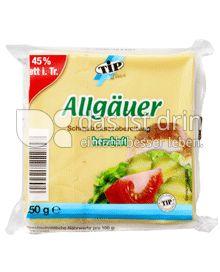 Produktabbildung: TiP Allgäuer Scheiben 250 g