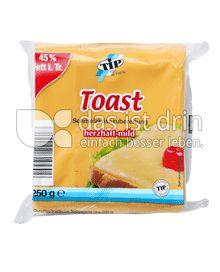 Produktabbildung: TiP Toast Schmelzkäsescheiben 250 g