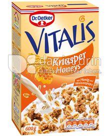 Produktabbildung: Dr. Oetker Vitalis Knusper Honeys 600 g