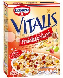 Produktabbildung: Dr. Oetker Vitalis Früchte Müsli 375 g