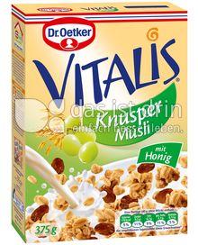 Produktabbildung: Dr. Oetker Vitalis Knusper Müsli 375 g