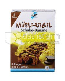 Produktabbildung: TiP Müsli Riegel Schoko-Banane