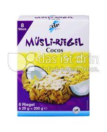Produktabbildung: TiP Müsli Riegel Cocos