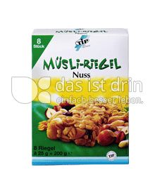 Produktabbildung: TiP Müsli Riegel Nuss