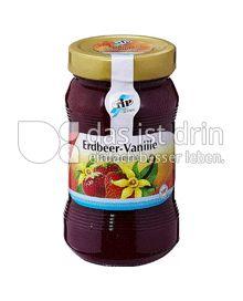 Produktabbildung: TiP Konfitüre Erdbeer Vanille 450 g