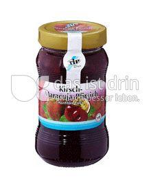 Produktabbildung: TiP Konfitüre Kirsch-Maracuja-Pfirsich 450 g