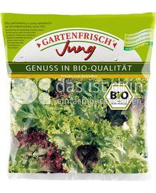Produktabbildung: Gartenfrisch Jung Bio Salatmischung 100 g