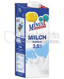 Produktabbildung: MinusL Laktosefreie H-Vollmilch 3,8% Fett 1 l