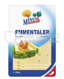 Produktabbildung: MinusL Laktosefreier Emmentaler in Scheiben 150 g
