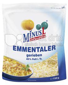 Produktabbildung: MinusL Laktosefreier Emmentaler gerieben 150 g