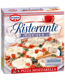 Produktabbildung: Dr. Oetker Ristorante Piccola Pizza Mozzarella 310 g