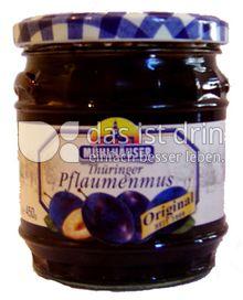 Produktabbildung: Mühlhäuser Thüringer Pflaumenmus 450 g