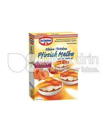 Produktabbildung: Kleine Törtchen Pfirsich Melba