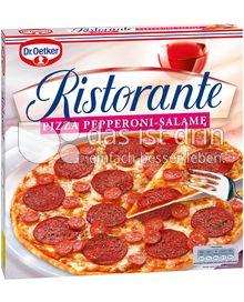 Produktabbildung: Dr. Oetker Ristorante Pizza Pepperoni-Salame 320 g