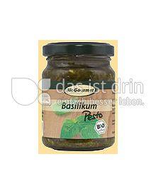 Produktabbildung: BioGourmet Basilikum Pesto 120 g