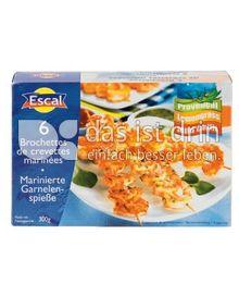 Produktabbildung: Escal Garnelen-Spieße 300 g