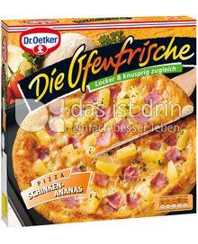 Produktabbildung: Dr. Oetker Die Ofenfrische Schinken-Ananas 415 g