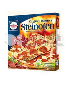 Produktabbildung: Original Wagner Steinofen Pizza Peperoni 320 g