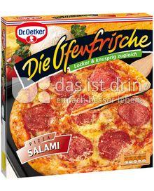 Produktabbildung: Dr. Oetker Die Ofenfrische Pizza Salami 380 g