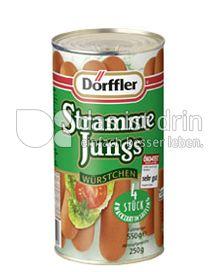 Produktabbildung: Dörffler Stramme Jungs Würstchen 250 g
