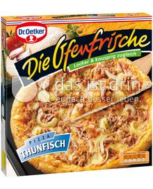 Produktabbildung: Dr. Oetker Die Ofenfrische Pizza Thunfisch 420 g