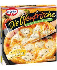 Produktabbildung: Dr. Oetker Die Ofenfrische Pizza Vier-Käse 395 g
