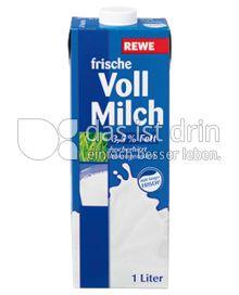 Produktabbildung: Rewe Frische Vollmilch 1 l