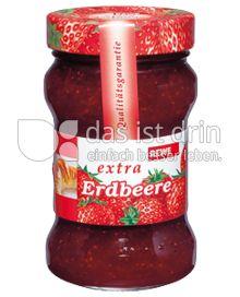Produktabbildung: Rewe Erdbeerkonfitüre 340 g