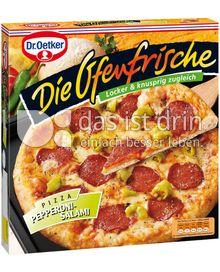Produktabbildung: Dr. Oetker Die Ofenfrische Pizza Pepperoni-Salami 400 g