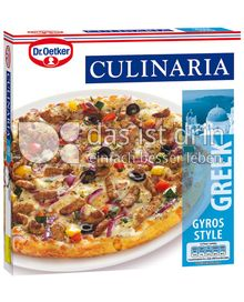 Produktabbildung: Dr. Oetker Culinaria Greek Gyros Style 355 g