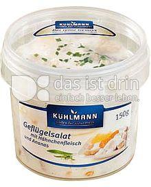 Produktabbildung: Kühlmann Gefluegelsalat Gourmet 200 g