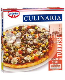 Produktabbildung: Dr. Oetker Culinaria Turkish Lahmacun Style 400 g