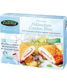 Produktabbildung: Land Hof Balance Hähnchen Cordon Bleu 500 g