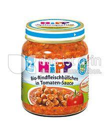 Produktabbildung: Hipp Rindfleischbällchen in Tomaten-Sauce 125 g