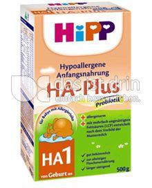 Produktabbildung: Hipp HA-Plus HA1 500 g